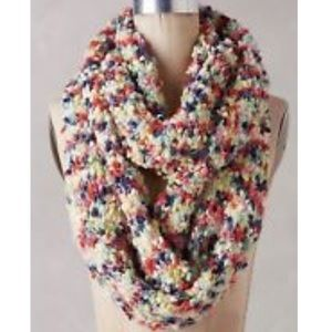 🔥NEW!🔥Anthropologie First Snow Infinity Scarf